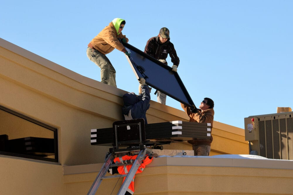 Installation of Solar Panels at the Los Alamos County Nature Center
