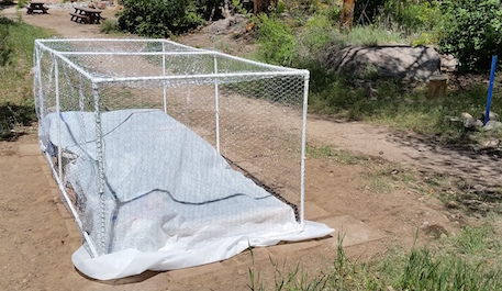 Raised bed garden cover pajarito environmental education Raised garden bed covers